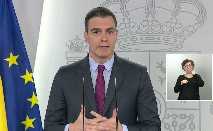 Pedro Sánchez: 'Cada fase de desescalada durará al menos dos semanas. En el mejor de los casos durará seis semanas en cada territorio, y la ...