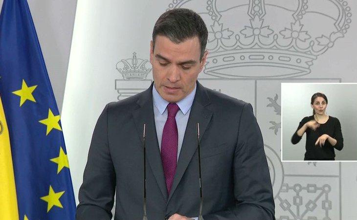 Pedro Sánchez: 'El próximo 4 de mayo entraríamos en la fase 0 todos los territorios'. Y explica: 'El próximo lunes 11 de mayo, todas las ...