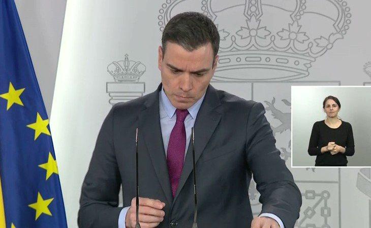 Pedro Sánchez, sobre el plan de desescalada: 'Estamos planteando un horizonte de como mínimo seis semanas y como máximo, esperemos, ocho semanas'