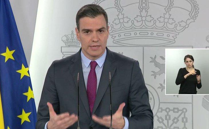 Pedro Sánchez, sobre los pactos de reconstrucción: 'Los españoles quieren que Europa se una para dar una respuesta (...), y eso tenemos también ...