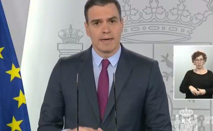 Pedro Sánchez: 'Hemos optado por este camino de fases espaciadas en dos semanas porque entedemos que es la capacidad de adaptación que se nos da de ...
