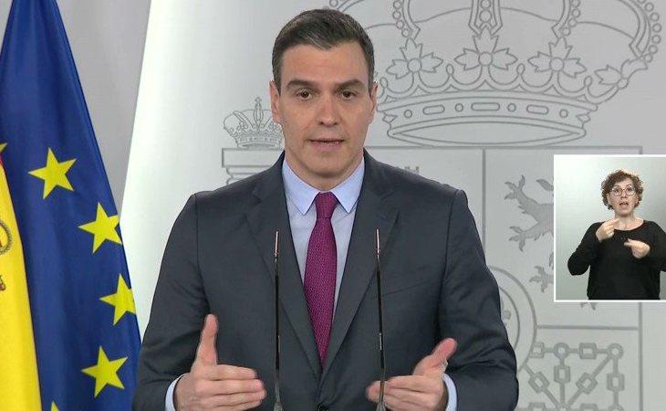 Pedro Sánchez: 'El teletrabajo es preferente al menos hasta llegar a la fase 3'