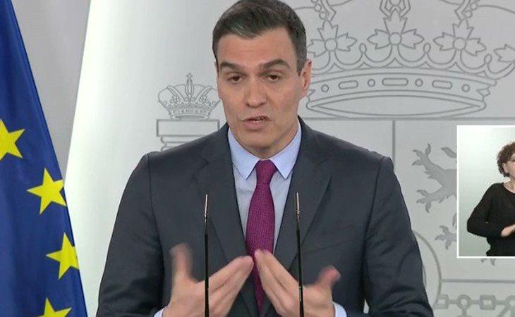Pedro Sánchez: 'El ingreso mínimo vital es uno de los compromisos del Gobierno de España. Estamos francamente preocupados por la pobreza que se ...