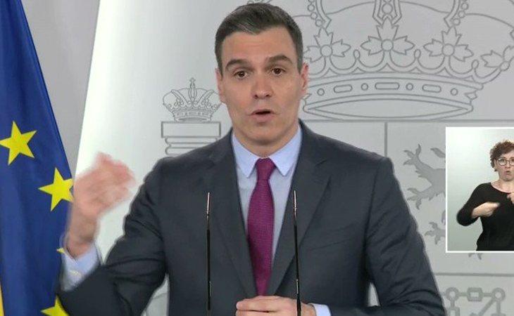 Pedro Sánchez: 'El Gobierno de España está realizando muchísimos test, y es uno de los países con más test realizados'