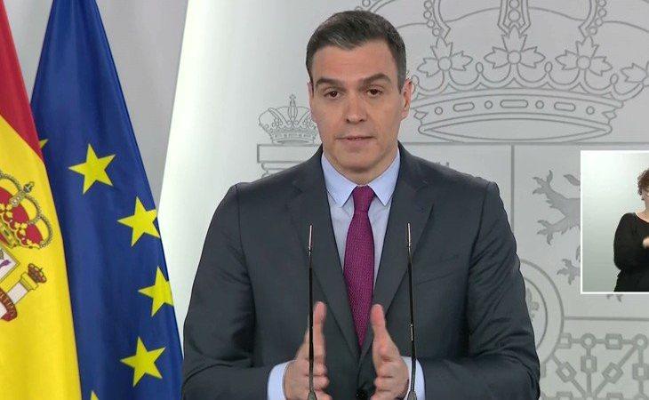 Pedro Sánchez: 'Imagínese que una provincia está en la fase 1 y otra limítrofe en la 3. No se puede permitir la movilidad, para reunirte con un ...