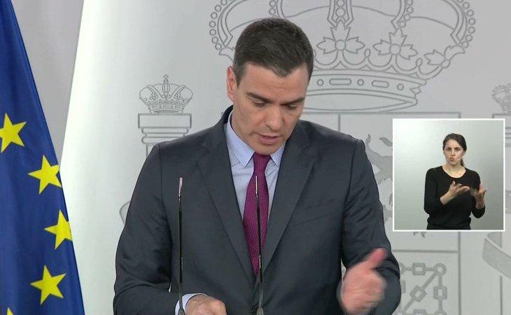 Pedro Sánchez: 'La lección que tenemos que sacar de la pandemia es que tenemos que reforzar nuestro sistema de bienestar y nuestro sistema de salud'