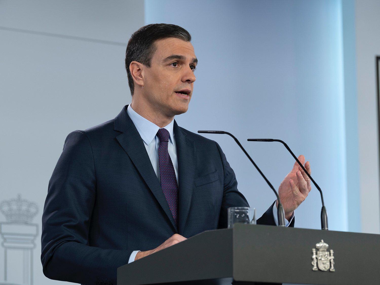"""Pedro Sánchez anuncia el plan de desescalada: """"A finales de junio estaremos en la nueva normalidad"""""""
