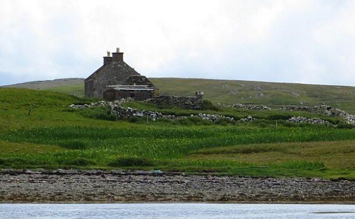 La isla d Linga, en Escocia, es un paraíso natural