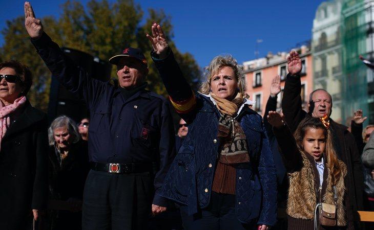 Los falangistas pretenden manifestarse en pleno estado de alarma
