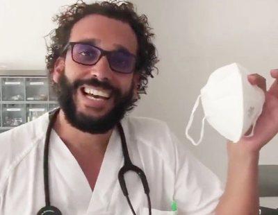"""Spiriman dona mascarillas de """"dudosa eficacia"""" a hospitales y Salud las tiene que retirar"""