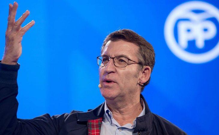 Alberto Núñez Feijóo, presidente de Galicia