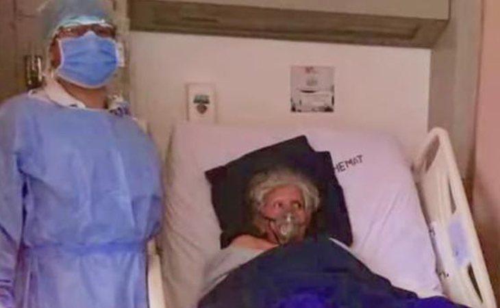 La anciana de 74 años fue dada por muerta durante casi un mes