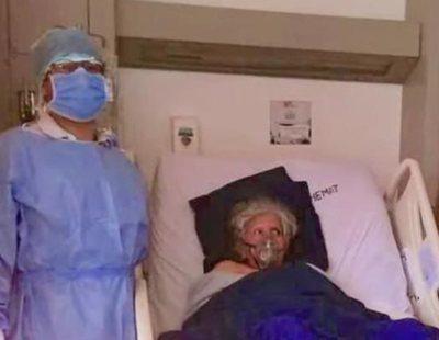 """Una mujer a la que dieron por muerta por coronavirus """"resucita"""" después de que le entregasen las cenizas a su familia"""