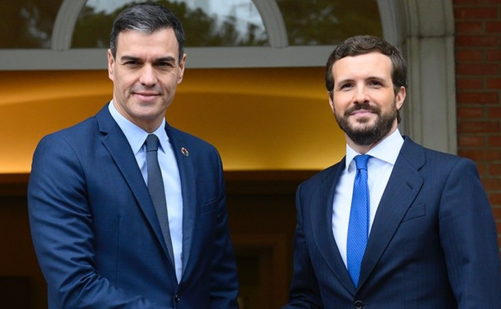Los desencuentros entre Pedro Sánchez y Pablo Casado han crecido durante la pandemia