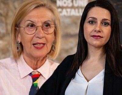 Rosa Díez acusa a Inés Arrimadas de colaborar con ETA por apoyar el estado de alarma