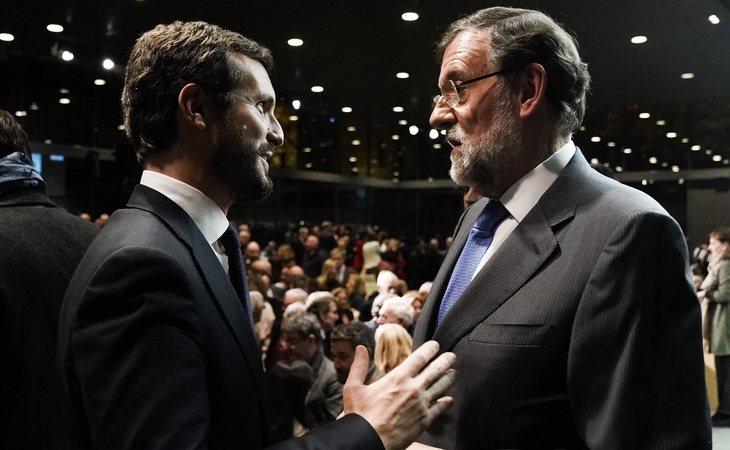 Rajoy envía mensajes al PP, a quien le quiere escuchar, que suelen ser recogidos por Feijóo, Juanma Moreno y Alfonso Fernández Mañueco