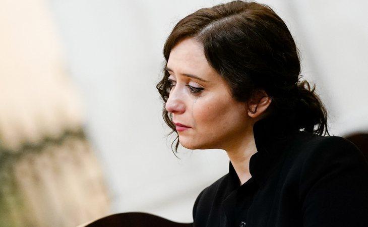 Isabel Díaz Ayuso, presidenta de la Comunidad de Madrid, no consigue que la región pase a la Fase 1