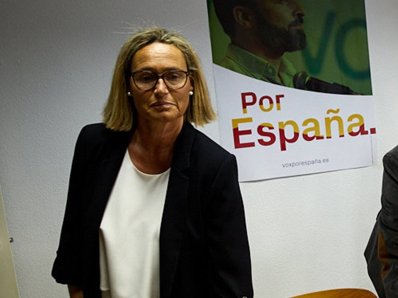 La líder de VOX Pamplona insinúa que el Gobierno usó el 8M para propagar el virus y construir un estado comunista
