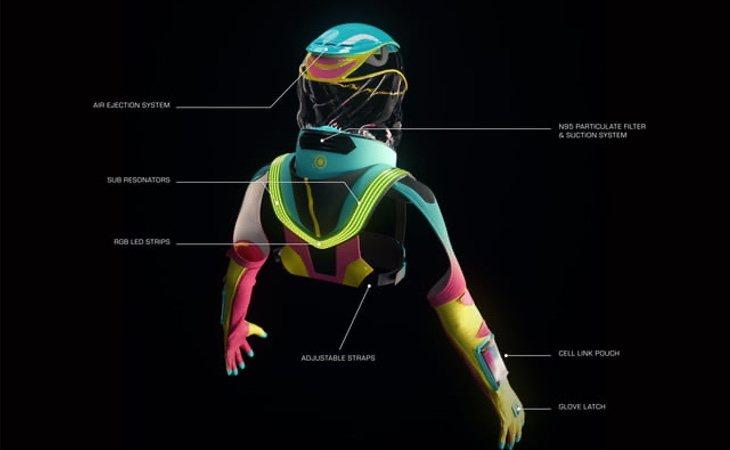 Sus desarrolladores confían en que el traje sea una pieza fundamental para salir de fiesta o acudir a festivales