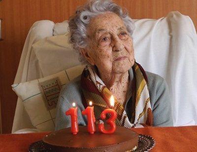 La anciana más longeva de España bate récord mundial tras superar el coronavirus con 113 años