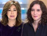 Ana Rosa Quintana defiende a Ayuso por el escándalo de los apartamentos de lujo