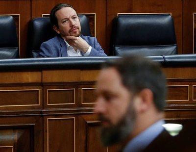 """VOX compara a Pablo Iglesias con Hitler y Abascal lo tacha de """"genocida"""""""
