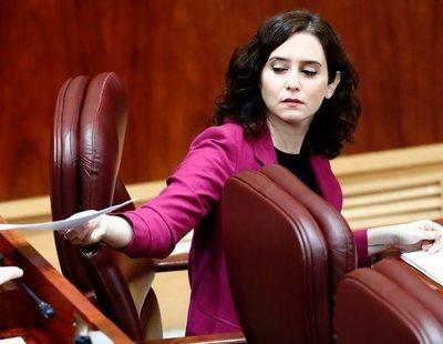 El futuro de Ayuso, en duda: Ciudadanos podría estar preparando una moción de censura para echarla