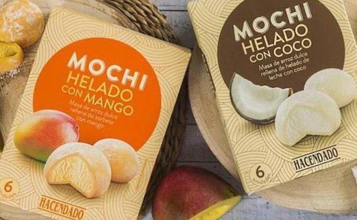 Los Mochis Helados de Mercadona de mango y coco