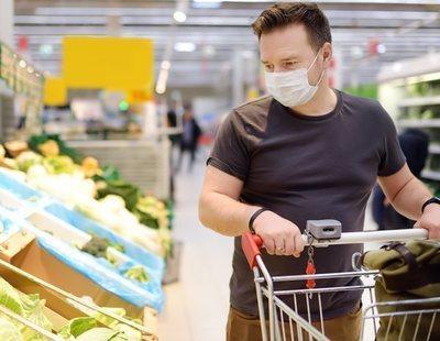 No hay coronavirus en los productos de alimentación del supermercado, según la OCU