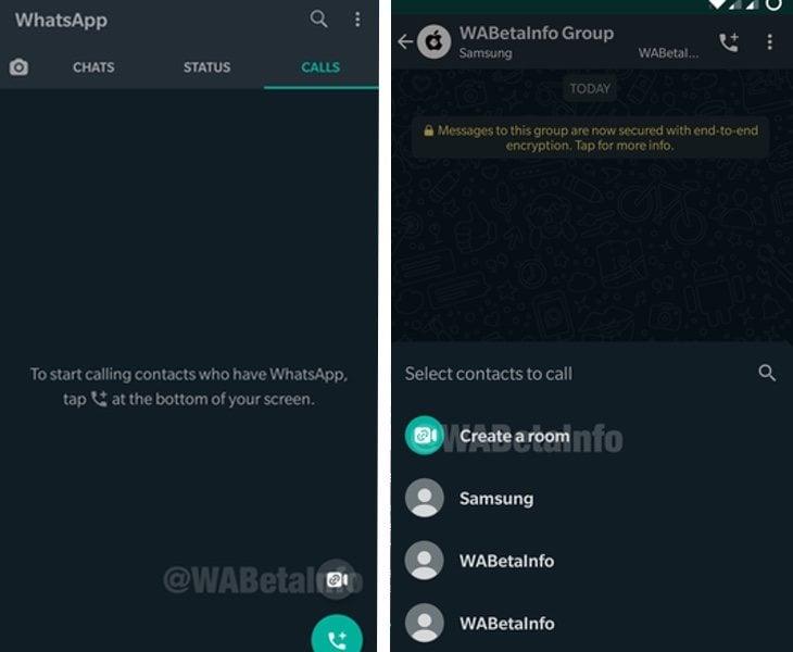 La app incorporará varios accesos directos a Rooms| WaBetaInfo