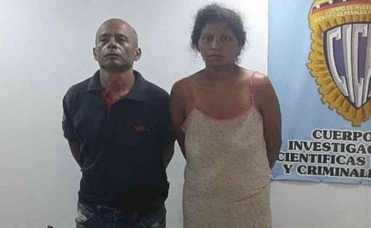 La pareja finalmente ha sido detenida