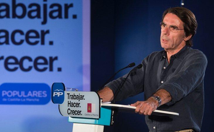 El expresidente José María Aznar lanza su última teoría contra el Gobierno: que utiliza el coronavirus para destruir España y construir un