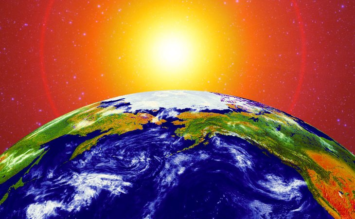Si el Sol se debilita afectará a la vida en la Tierra