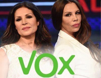 """Azúcar Moreno muestra su simpatía por VOX: """"¡A por ellos!"""""""