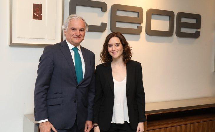 Isabel Díaz Ayuso ha reconocido que apoyó el paso a una desescalada acelerada tras reunirse con varios empresarios de la región