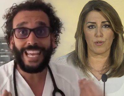 Spiriman deberá pagar a Susana Díaz por insultos e injurias