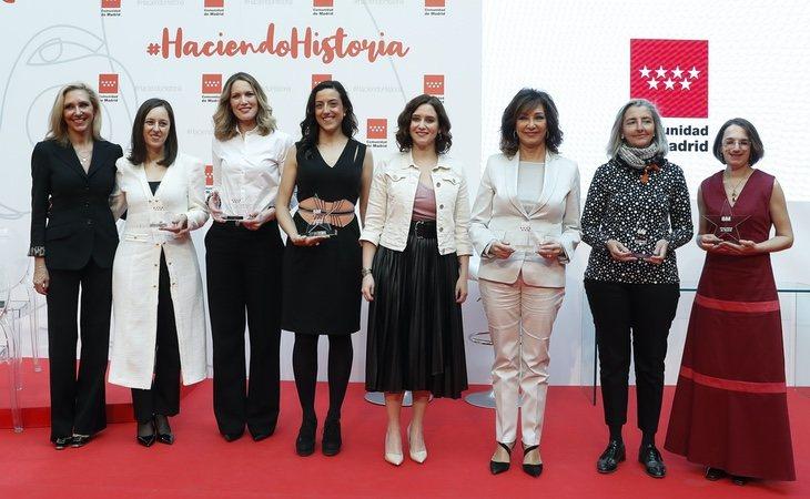 La Comunidad de Madrid celebró un evento multitudinario con motivo del 8-M en el que tampoco se adoptó ninguna medida de seguridad frente a la pandemia