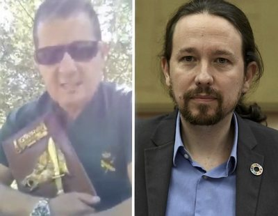 Piden imputar al Guardia Civil que se grabó amenazando de muerte a Pablo Iglesias