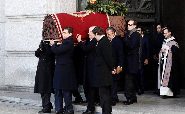 Exhumación de Francisco Franco del Valle de los Caídos