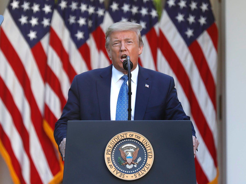 Donald Trump amenaza con desplegar al ejército contra las protestas