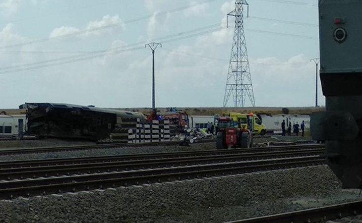 El tren ha descarrilado sobre las vías | Zamora24horas