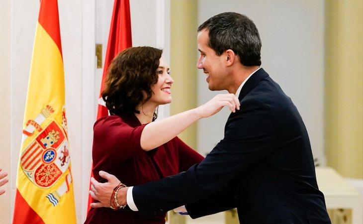 Isabel Díaz Ayuso ha disparado el gasto del chalé de lujo que costea la Comunidad de Madrid, donde se alojó Juan Guaidó