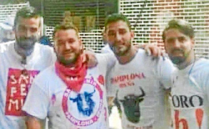 Cuatro de los cinco miembros de 'La Manada', condenados en esta causa