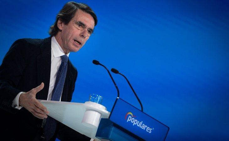 Aznar, que cobra una pensión vitalicia de casi 80.000 euros, critica el ingreso mínimo vital
