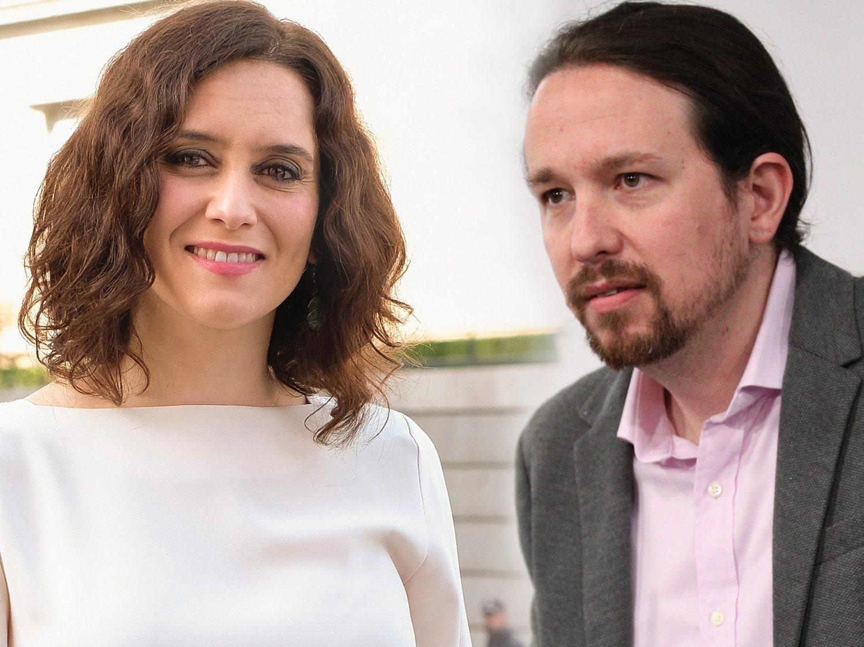 """Cuando Pablo Iglesias e Isabel Díaz Ayuso eran amigos y se iban """"de cañas"""""""