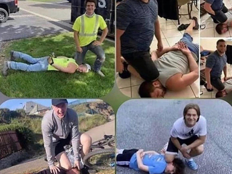 Indignación por el lamentable reto viral del #GeorgeFloydChallenge