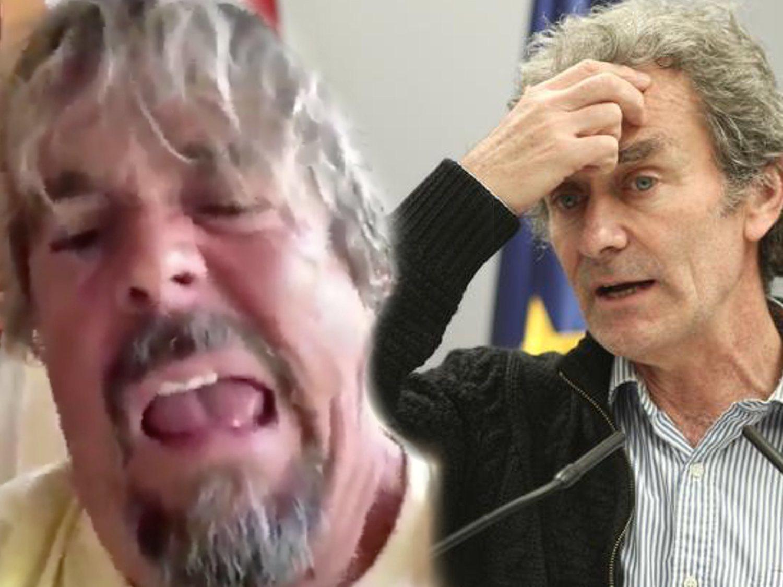 """Juan Muñoz (Cruz y Raya) estalla contra Fernando Simón: """"Sabrá mucho de lo suyo, pero le manejan"""""""