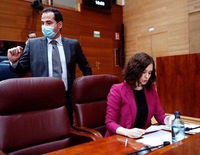 Ayuso se abre a elecciones en Madrid tras el estado de alarma ante una moción de censura