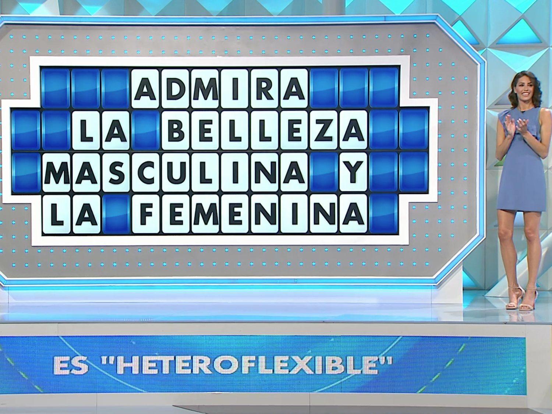 """""""Heteroflexible"""": acusan de bifobia a 'La ruleta de la suerte' por un lamentable panel"""