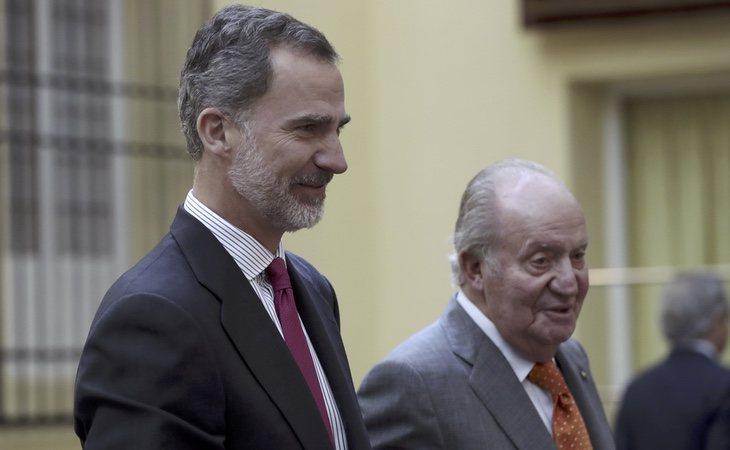 La relación entre Felipe VI y el rey Juan Carlos se ha deteriorado significativamente